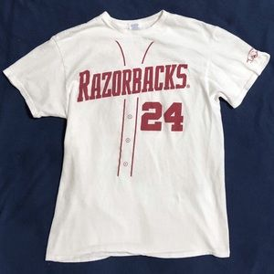 Other - Arkansas Baseball Eibner #24 T-shirt Razorback